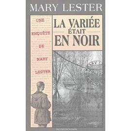 La Variée était en noir – Une enquête de Mary Lester – Jean Failler – Editions du Palémon –