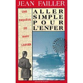 Aller simple pour l'enfer – Jean Failler – Editions du Palémon –