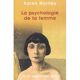 La psychologie de la femme – Karen Horney – Petite Bibliothèque Payot –