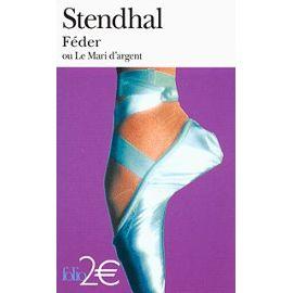 Stendhal-Feder-Ou-Le-Mari-D-argent-Livre-1108783008_ML