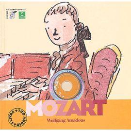 Mozart Wolfgang Amadeus – avec un CD – Gallimard Jeunesse musique –