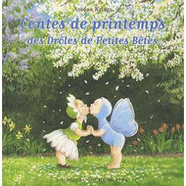 Contes de printemps des Drôles de Petites Bêtes – Antoon Krings – Gallimard Jeunesse Giboulées