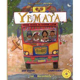 zaf-zapha-yemaya-voyage-musical-en-amerique-latine-1cd-audio-livre-860128380_ML