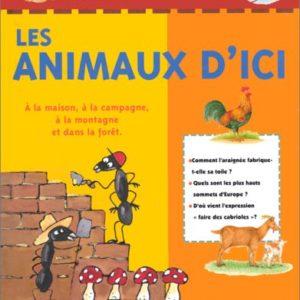 Mon livre d'animaux – Marc Duquet – Les animaux d'ici – A la maison, à la montagne et dans la forêt – De La Marinière Jeunesse Editions –