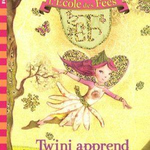 L'École des Fées Tome 1 – Twini apprend à voler – Titania Woods – Folio cadet – Gallimard jeunesse –