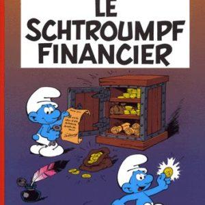 Le Schtroumpf  financier – Peyo – Editions Le Lombard –