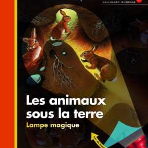 Les animaux sous la terre – mes premières découvertes – Gallimard Jeunesse –