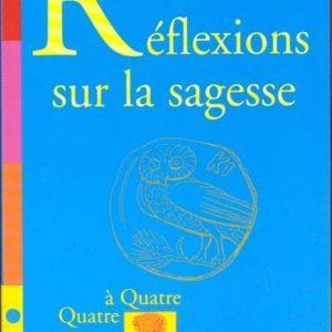 Réflexions sur la sagesse – Jean-Michel Besnier – Collection Quatre à Quatre – Editions Le Pommier –