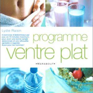 Programme ventre plat – Lydie Raisin – Editions Marabout –