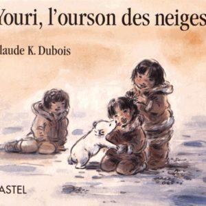 Youri, l'ourson des neiges – Claude K.Dubois – Pastel – Ecole des Loisirs –