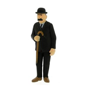 FIGURINE DE COLLECTION DUPONT AVEC SA CANNE 6 CM – Moulinsart –