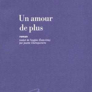 Un amour de plus – Sylvia Brownrigg – Editions Mercure de France –