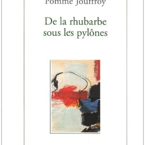 De la rhubarbe sous les pylones – Pomme Jouffroy – Editions des femmes –