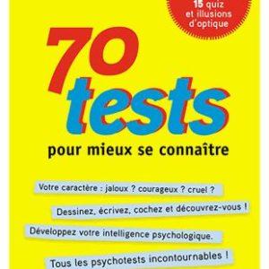 70 Tests pour mieux se connaître – Ben Ambridge – Editions Autrement –