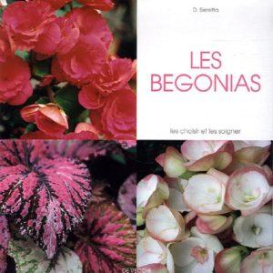 Les Bégonias – les choisir et les soigner – D. Beretta – Editions De Vecchi –