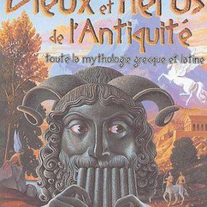 Dieux et Héros de l'Antiquité – Toute la mythologie grecque et latine – Odile Gandon – Le livre de poche jeunesse –