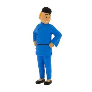 Figurine PVC Tintin Lotus 6 cm – Moulinsart – (42461)