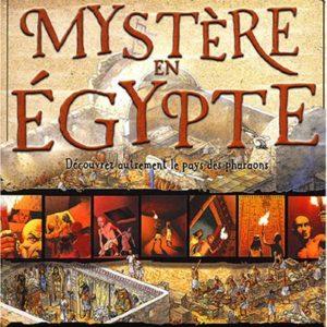 Mystère en Egypte – Une BD, Des infos pour élucider un…- Stewart Ross – Editions Nathan –