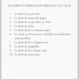 Comme un roman – Daniel Pennac – Folio Gallimard –