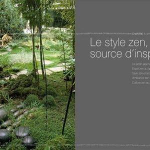 Mon jardin Zen – Imaginer, agencer, planter, entretenir, les principes incontournables du jardin zen – Pierre Nessmann – Brigitte et Philippe Perdereau – Editions de la Martinière –