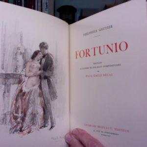 Fortunio – Théophile Gautier – Editions Georges Briffaut – 1934 – Illustrations de Paul-Emile Bécat –