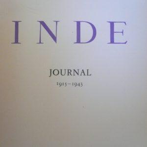 Inde – Journal 1915-1943 – Romain Rolland – Editions Vineta -1951 –
