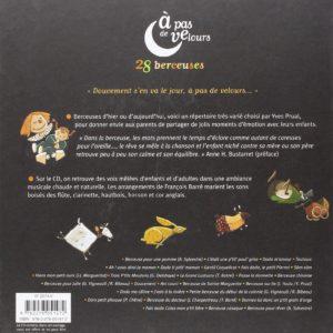 À pas de velours – 28 berceuses – un livre, un CD – Isabelle Chatellard et Stéphane Girel – Didier Jeunesse –