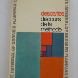 Discours de la méthode – Descartes – GF Flammarion –