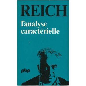 L'analyse caractérielle – Reich – Petite bibliothèque Payot –