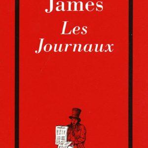 Les Journaux – Henry James – Les Cahiers Rouges – Editions Grasset –