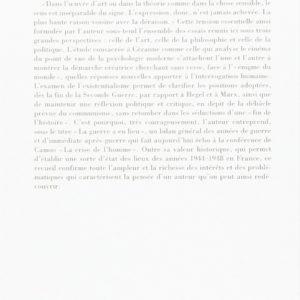 Sens et Non-Sens par Maurice Merleau-Ponty – Bibliothèque de philosophie – Editions Gallimard –