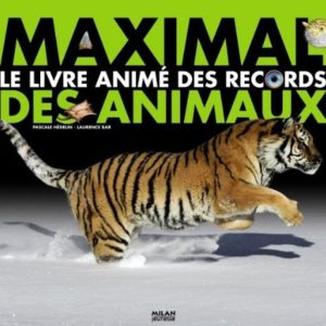 Maximal Le Livre Animé des records des animaux – Pascale Hédelin – Laurence Bar – Milan Jeunesse
