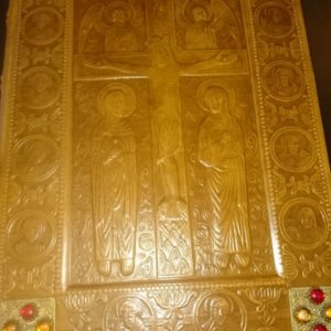 Les évangiles selon Saint-Matthieu, Saint-Marc, Saint-Jean version de Lemaistre de Sacy, illustrations de André Dussarthou – Editions de l'Odéon, Paris –