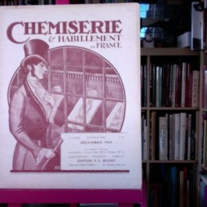 Chemiserie & Habillement de France – revue – Décembre 1924 – Editions F.A. Beudet –