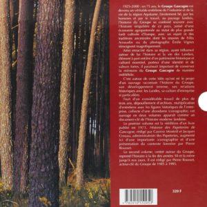 Une aventure industrielle née de la Forêt – Le groupe Gascogne – Editions Confluences –