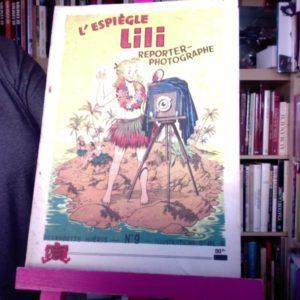 L'espiègle Lili Reporter-Photographe – Texte Bernadette Hiéris – Illustrations d'AL.-G. – SPE- E.O. 1954 –