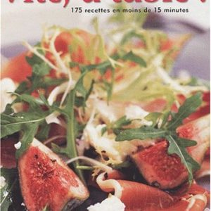 Vite, à table ! 175 recettes en moins de 15 minutes – Collectif – Sélection du Reader's Digest –