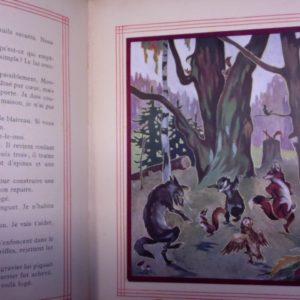 Contes du Ver Luisant – Jeanne Roche-Mazon – Illustrés par O'Klein – Boivin & Cie Editeurs – 1936