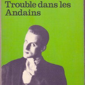 Trouble dans les Andains – Boris Vian – Collection 10/18 – 1970 –