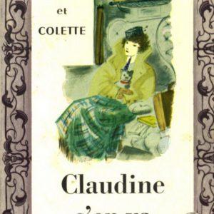 Claudine s'en va – Willy et Colette – Le livre de poche n° 238 – 1957 –