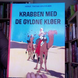 Les Aventures de Tintin : Le crabe aux pinces d'or – Edition en danois – Hergé – Casterman –
