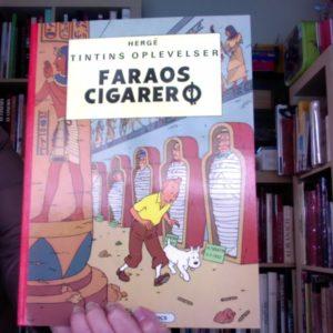 Les Aventures de Tintin : Les cigares du pharaon – Edition en danois – Hergé – Casterman –