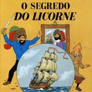 Les aventures de Tintin : Le secret de la licorne – Edition en portugais -Hergé – Casterman