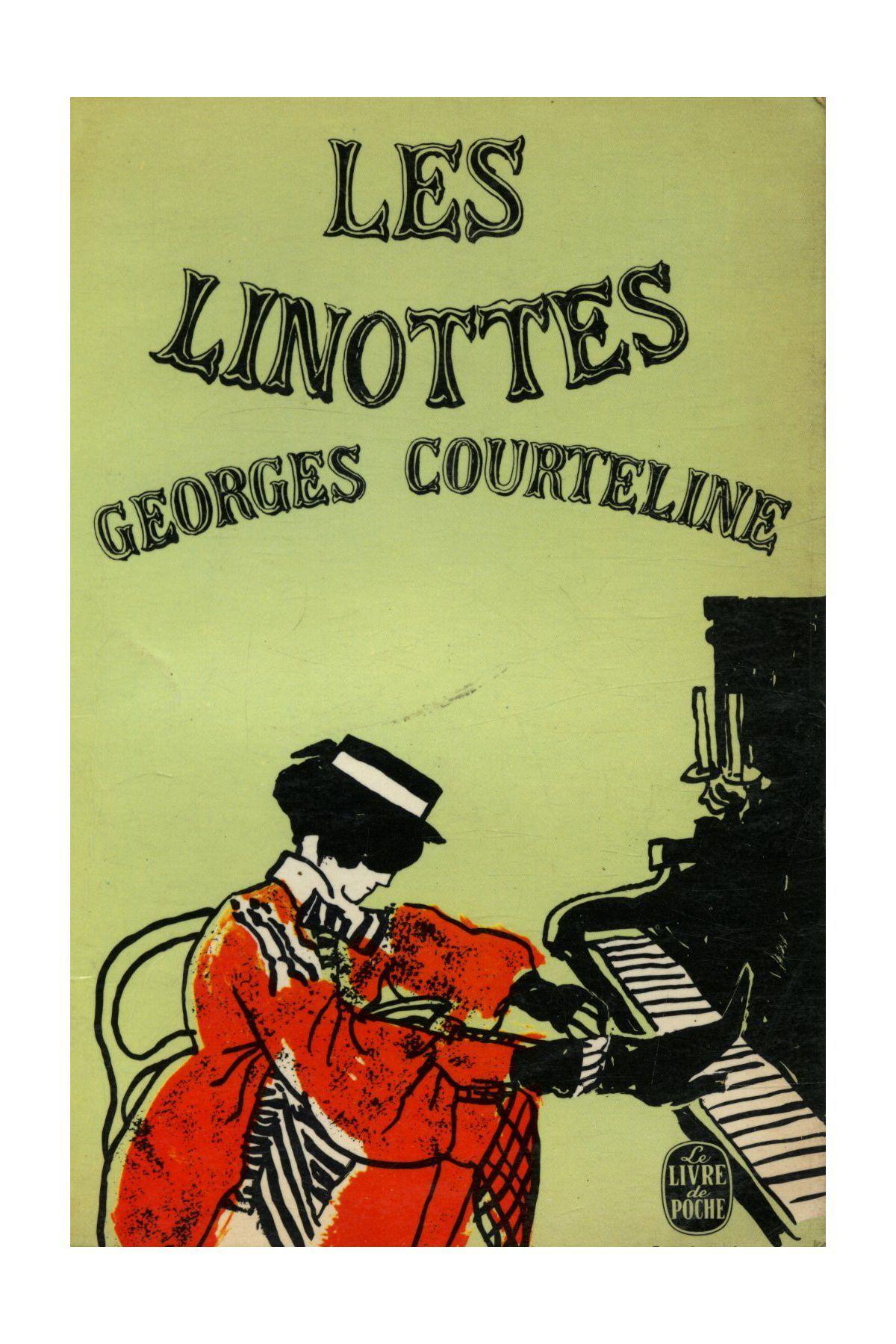 Les Linottes Georges Courteline Le Livre De Poche N 1616 1966