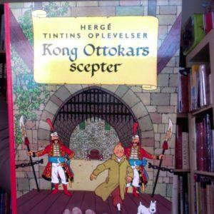 Les Aventures de Tintin : Le sceptre d'Ottokar – Edition en danois – Hergé – Casterman