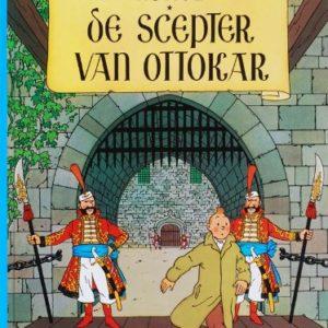 Les aventures de Tintin : Le sceptre d'Ottokar – Edition en néerlandais – Album cartonné – Hergé – Casterman –