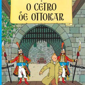 Les aventures de Tintin – Le Sceptre d'Ottokar – Edition en portugais – Hergé – Casterman –