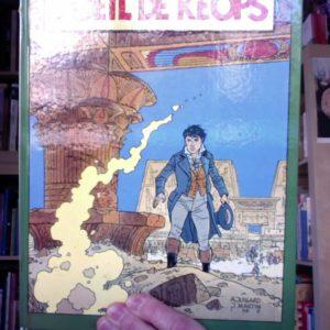 Arno Tome 2 : L'oeil de Kéops – Juillard – Martin – Editions Glénat – E.O. 1985 –