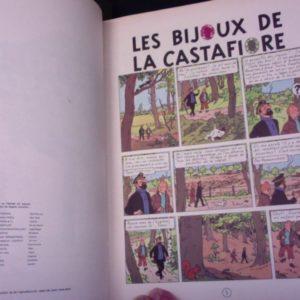 Les Aventures de Tintin – Les Bijoux de la Castafiore – Editions Casterman – E.O. 1963 –