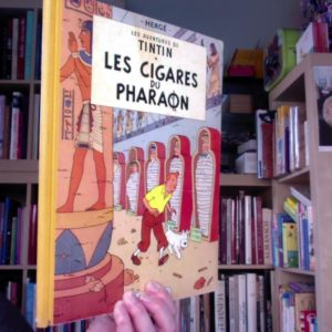 Les aventures de Tintin – Les Cigares du Pharaon – Casterman – E.O. 1955 –